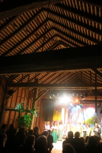 The English Barn makes an incredible theater