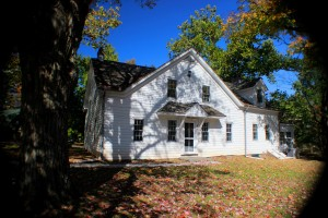 The 1700's Farmhouse where classes, concerts and art shows are held and studios are available