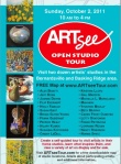 ARTsee open studio tour flyer