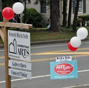 ArtSee and Farmstead signs