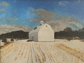 William Griffith White Barn