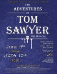 Tom Sawyer will be performed June 5 - 13, 2015