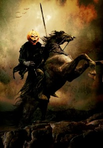 The Headless Horseman of the Legend of Sleepy Hollow by Washing Irving at Farmstead Arts