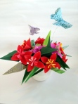 Make this origami bouquet in the May 10 class