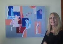 susan antin with art