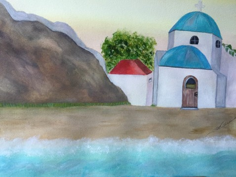 A View From The Agean Irene Grabowski