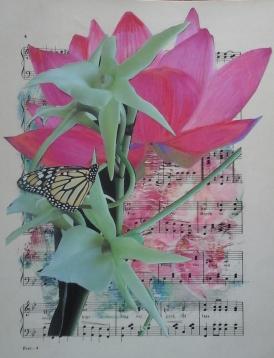 E.SusanHaiken -mixedmedia - Song of the Flower