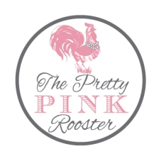 Pretty Pink Rooster 2