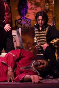 Cassio - Maxwell Blackriver, Othello - Ron Richardson