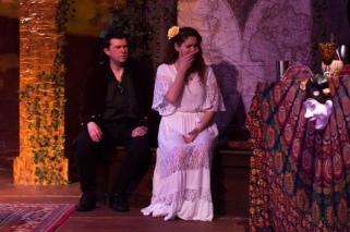 Iago - Matthew Gochman, Desdemona - Liz Carlin